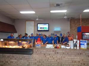 Breakfast provided by South Dubbo Rotary Club 21/10/2015