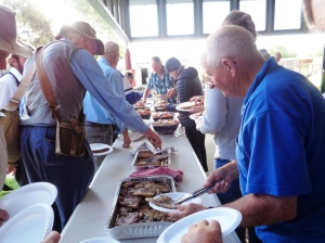 BBQ dinner provided by Millthorpe Public School P & C 28/10/2015