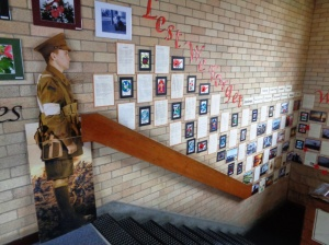 WWI display at Cooerwull Public School in Lithgow 3/11/2015